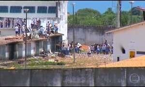 Penitenciária de Alcaçuz (RN) enfrenta o quarto dia seguido de tumultos