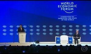 Fórum Econômico Mundial começa em Davos
