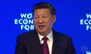 Protecionismo defendido por Trump é avo de críticas em Davos