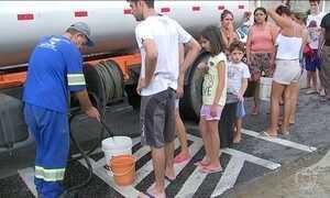 Falta de água em Sorocaba, SP, causa transtornos a moradores