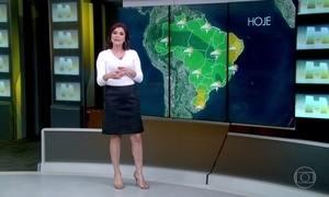 Confira a previsão do tempo pelo Brasil
