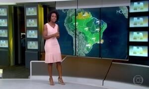 Chuva forte chega nas regiões Norte e Nordeste