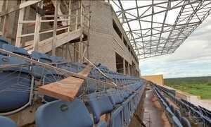Centros de treinamento abandonados no MT mostram desperdício de dinheiro público