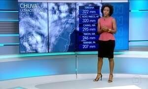 Previsão de chuva para o Norte e Nordeste nesta terça (14)