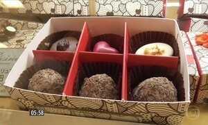 Chocolate é presente ideal na comemoração do Dia dos Namorados no Japão