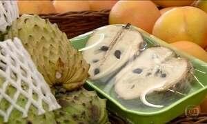 Fruta pouco conhecida do público, atemoia é rica em antioxidantes, mostra pesquisa