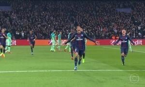PSG goleia o Barcelona na Liga dos Campeões da Europa