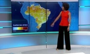 Confira a previsão do tempo para a quinta-feira (16) em todo o Brasil