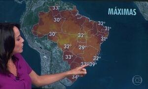 Previsão é de ainda mais calor no Sudeste