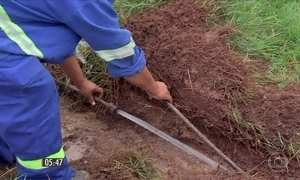 Ligações clandestinas causam prejuízo de água tratada em Cuiabá