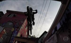 Feras do 'Downhill' encaram a Descida das Escadas de Santos