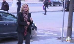 Irmã do rei da Espanha é absolvida pela Justiça, mas seu marido é condenado
