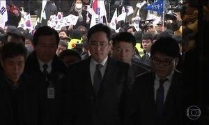Herdeiro da Samsung é preso por envolvimento em escândalo de corrupção