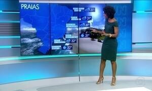 Confira a previsão do tempo para o sábado (18) em todo o país