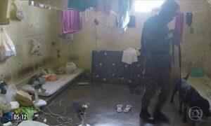 Exército encontra armas, drogas e celulares em presídio de RO