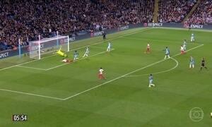 Manchester City e Atlético de Madri goleiam na Liga dos Campeões da Europa