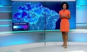 Previsão de chuva para o Sul e Sudeste nesta quinta (23)