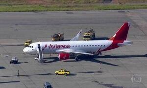 Avião da Avianca volta para São Paulo para fazer pouso de emergência