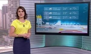 Veja a previsão do tempo para o início do carnaval em todo o Brasil