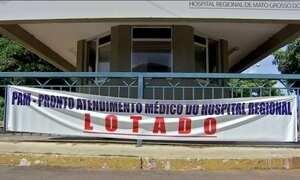 Hospitais públicos de Campo Grande (MS) estão rejeitando pacientes