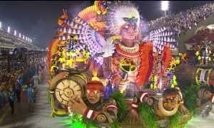 Imperatriz Leopoldinense leva cultura dos povos Xingu para a avenida