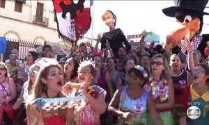 Mais blocos devem desfilar pelas ruas de São Paulo nesta terça-feira (28)