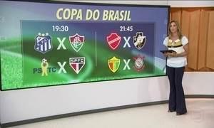 Bola volta a rolar para a Copa do Brasil com o fim do Carnaval