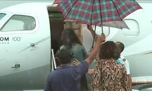 Cantor Victor presta depoimento à Polícia de Minas Gerais