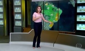 Veja a previsão do tempo para esta segunda-feira (13)
