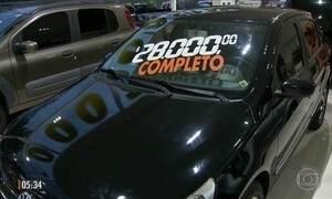 FGTS ajuda a alavancar venda de carros usados