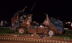 Quadrilha rouba carro-forte e mata PM em Barrinha, interior de SP