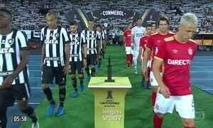 Botafogo vence Estudientes pela Copa Libertadores