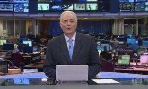Jornal da Globo - Edição de Quarta-feira, 15/03/2017