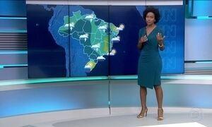 Boa parte do Brasil deve ter clima instável nesta sexta-feira (17)