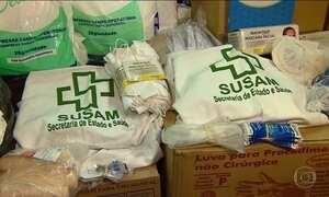 Roubo de remédios da rede pública leva três à prisão em Manaus
