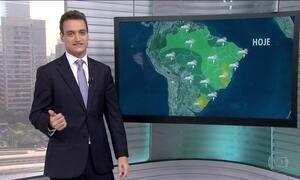 Veja a previsão do tempo para todo o Brasil nesta sexta-feira (17)