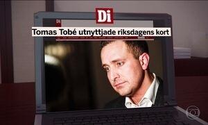 Deputado sueco pede desculpas por gasto ilegal equivalente a R$ 3.800