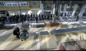 Bélgica lembra as vítimas de ataques terroristas