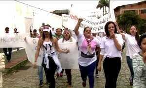 Funcionários de frigoríficos fechados pela Carne Fraca protestam em SC e PR