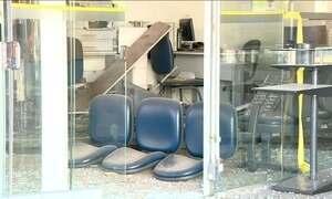 Assaltos a bancos assustam a população em várias cidades brasileiras