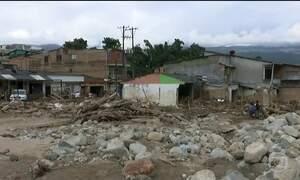 Sobe para 273 o número de mortos em deslizamento na Colômbia