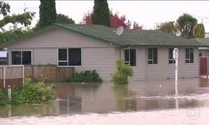 Enchente obriga a esvaziar cidade na Nova Zelândia