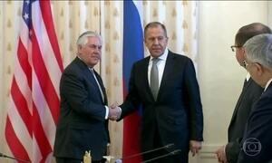 Rússia e EUA reconheceram que relação não está boa e que a confiança anda em baixa