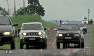 Radares registram motoristas em alta velocidade em rodovias