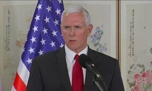 Vice-presidente dos EUA adverte Coreia do Norte a não testar determinação de Trump