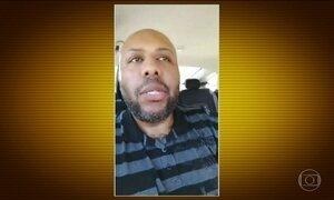 Polícia dos EUA caça assassino que transmitiu crime ao vivo pela internet
