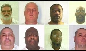 Oito condenados à morte nos EUA serão executados de uma vez só