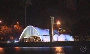 Pampulha é famosa no modernismo brasileiro e vira atração nas noites de Belo Horizonte