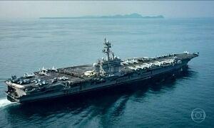 Imprensa dos EUA diz que armada que iria para Coreia do Norte viajou em sentido contrário