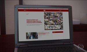 G1 tem página especial sobre as delações da Odebrecht com atualização diária